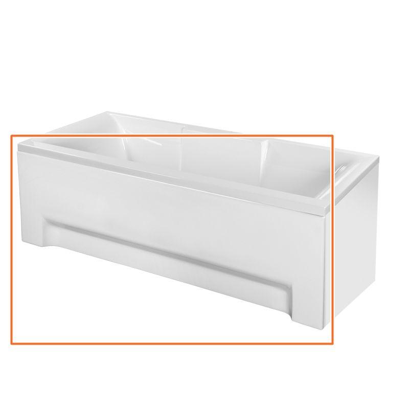 M-Acryl CRYSTAL 170x75 cm egyenes akril kádhoz előlap