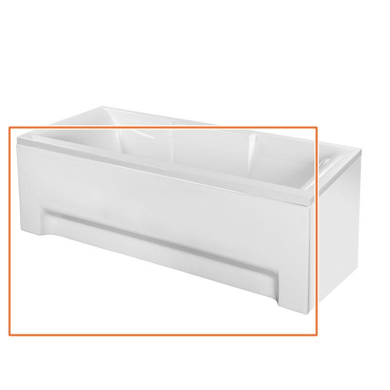 M-Acryl CRYSTAL 180x80 cm egyenes akril kádhoz előlap