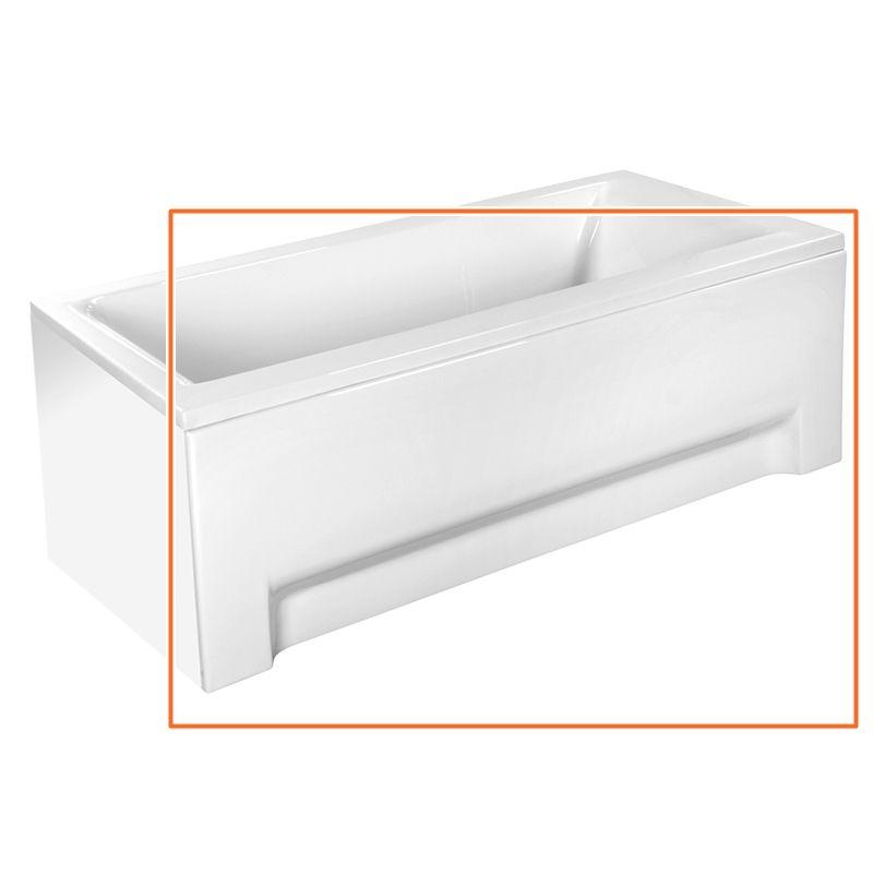 M-Acryl CORAL I. 180x80 cm egyenes akril kádhoz előlap