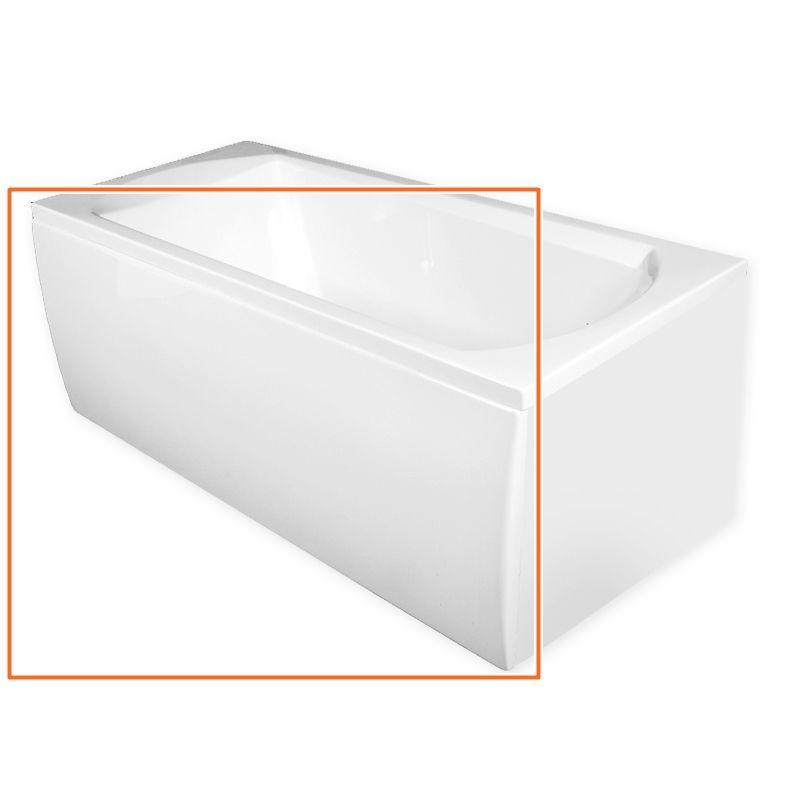 M-Acryl TAMIZA 150x70 cm egyenes akril kádhoz előlap