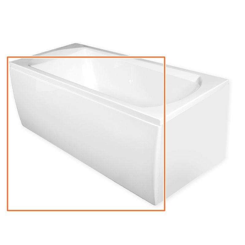 M-Acryl TAMIZA 170x75 cm egyenes akril kádhoz előlap