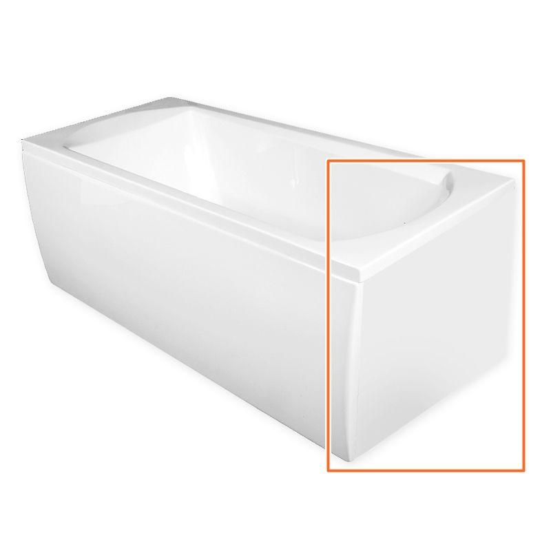 M-Acryl TAMIZA 150x70 cm egyenes akril kádhoz oldallap