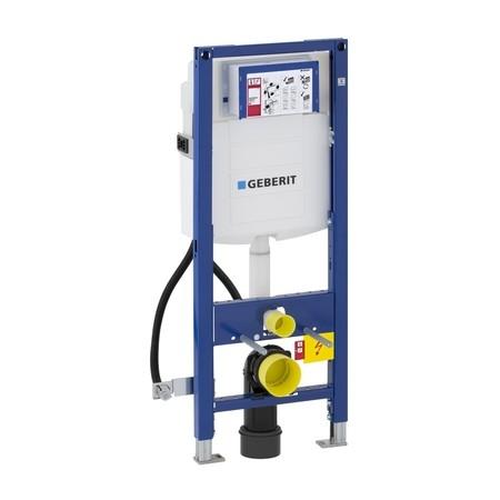 Geberit Duofix WC szerelőelem fali WC részére Sigma 12cm-es öblítőtartállyal, mozgássérült kivitel / 111.350.00.5 / 111350005