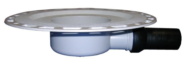 HL90KD Szuperalacsony padlólefolyó test üvegszövet-kasírozott szigetelő karimával DN40