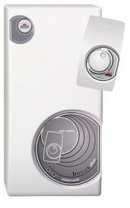 RADECO / KOSPEL EPPV BONUS PLUS 12 kW-os átfolyós rendszerű elektromos vízmelegítő távirányítóval