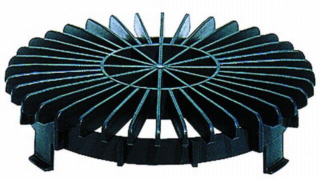 HL170 Lombfogó rács DN150
