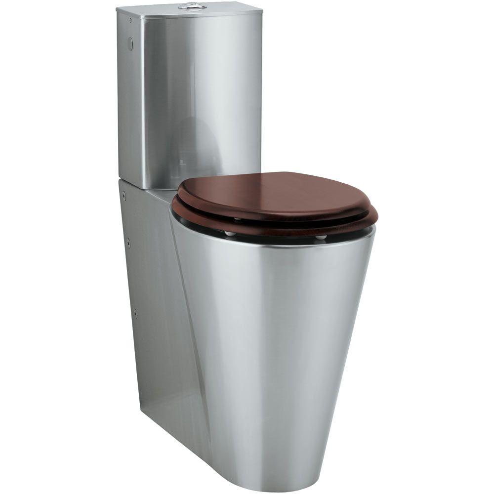 TEKA WC007 Kúp alakú beépített tartállyal rozsdamentes wc 70.008.02.00 / 700080200