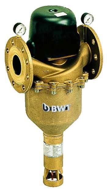 BWT Ipari lebegőanyag szűrő berendezés, Automata kivitel, idővezérléssel és differenciál nyomáskapcsolással, BWT INFINITY AP - DN 100 (100 μm), Cikkszám: 10085