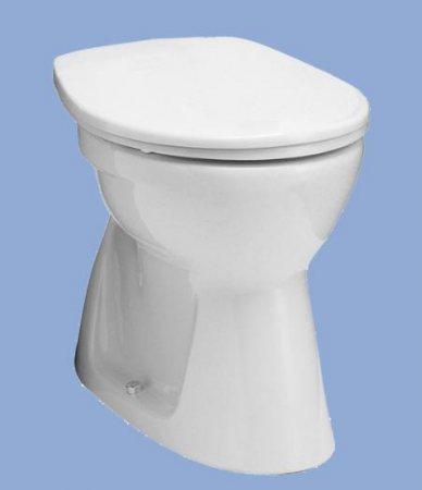 ALFÖLDI BÁZIS / 4032 00 14 / alsó kifolyású, laposöblítésű wc csésze, Bahama beige színben