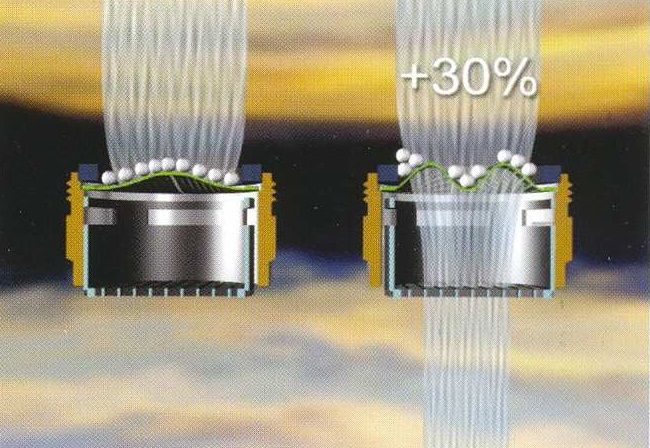 22x1 belső menetes víztakarékos + vízkőmentes króm perlátor csaptelephez 5 liter/perc (60%-os megtakarítás)