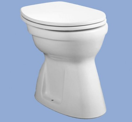 ALFÖLDI BÁZIS / 4037 00 15 / alsó kifolyású, lapos öblítésű wc csésze, Manhattan színben