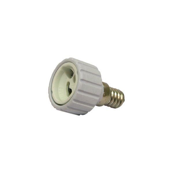 Izzó foglalat átalakító adapter GU10/E14, mini, max. 2A / 84863