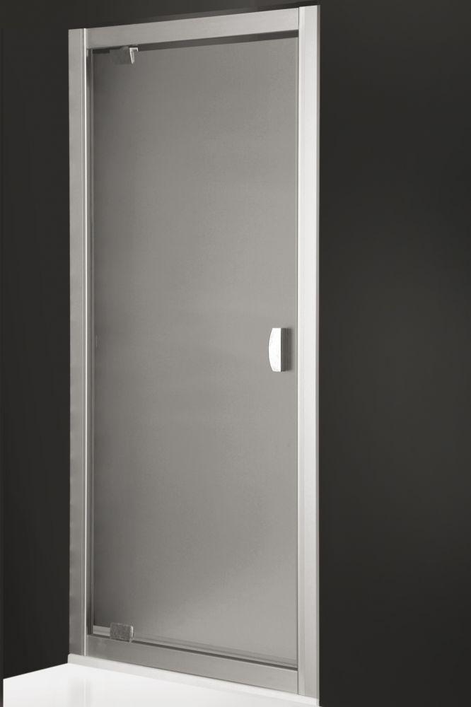 Roltechnik ECDO1/850 nyíló zuhanyajtó / 85x185 cm / brillant profillal / transparent üveggel