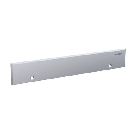 Geberit takarólap készlet zuhany szerelőelemhez távtartóval / 32(22)x5 cm, rozsdamentes acél / 154.337.FW.1 / 154337FW1