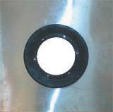 HL84.E Szigetelő készlet d 500mm horganyzott acéllemezzel