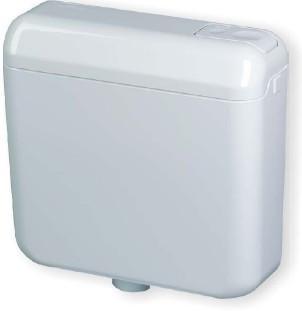 LIV LAGUNA wc tartály monoblokkos, fehér / monoblokk wc csészéhez szerelhető