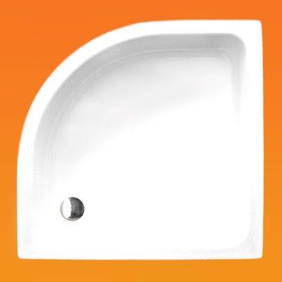 ROLTECHNIK HAWAII 900 x 900 / 90x90 cm-es íves zuhanytálca, aláfalazható