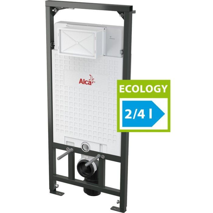 AlcaPLAST A101/1200E, Sádromodul - Száraz szerelésre szolgáló előtétfalas rendszer (gipszkarton) – ECOLOGY