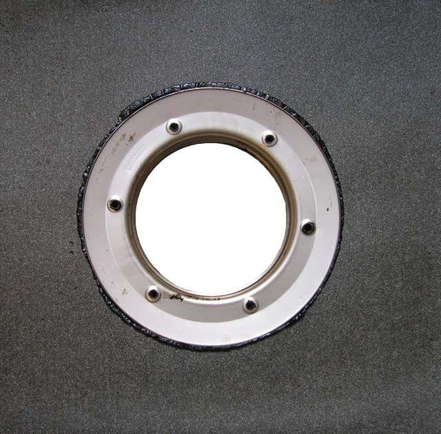 HL84.H Szigetelő készlet d 500mm bitumenlemezzel