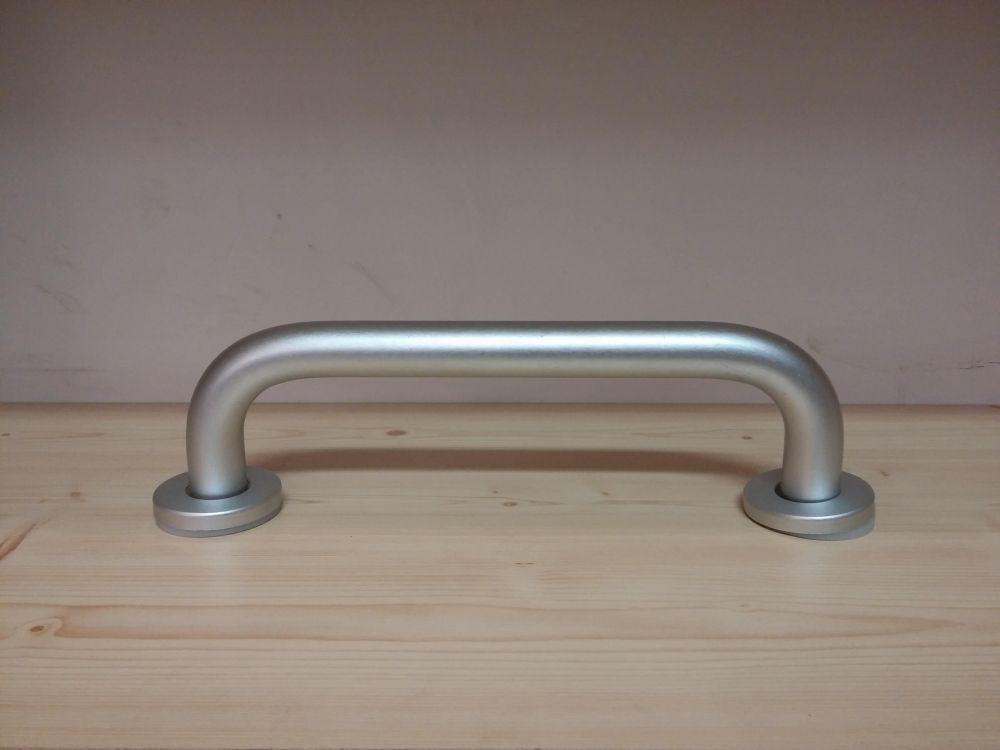"""""""Alumínium"""" fali kapaszkodó / kádkapaszkodó / 25 cm / 250 mm / ajtóbehúzó, matt króm"""