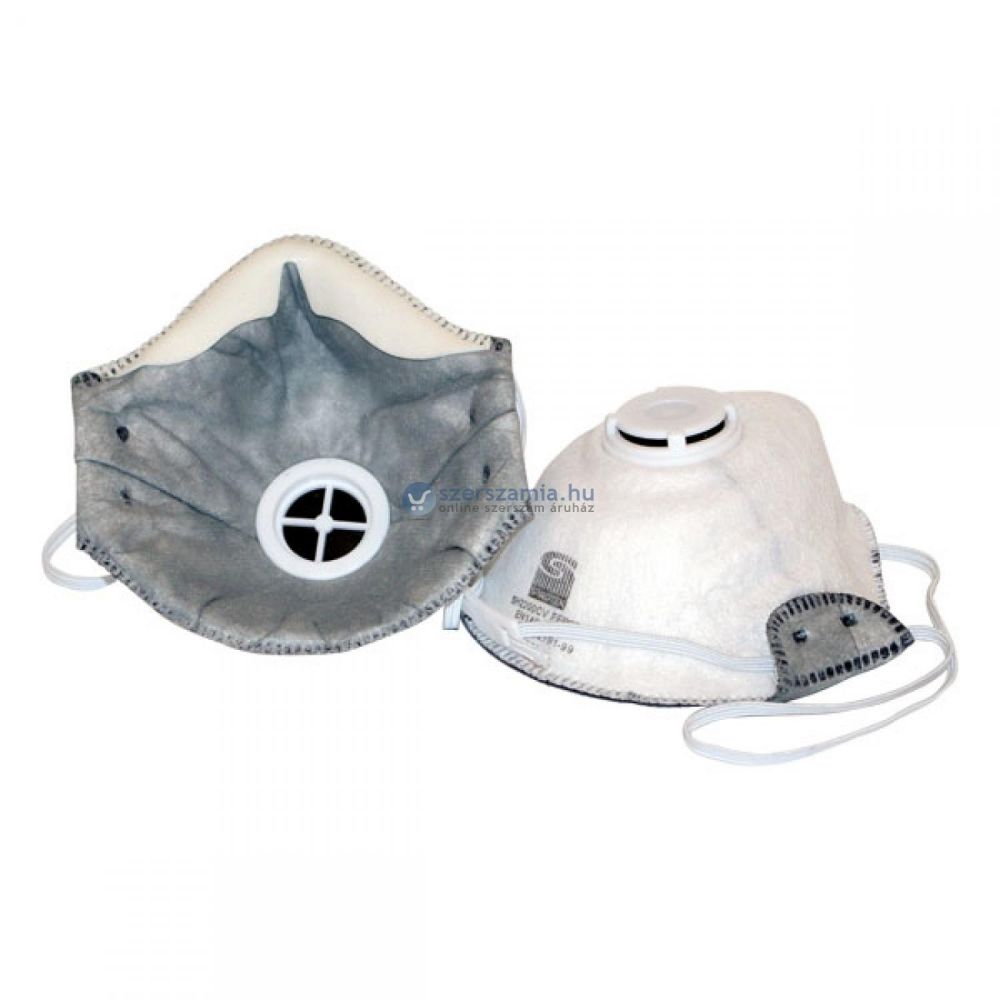 MUNKAVÉDELMI pormaszk REFIL FFP2D; légzőszeleppel, SPIROTEK kevésbé ill. közepesen mérgező aerosolok ellen / 702432