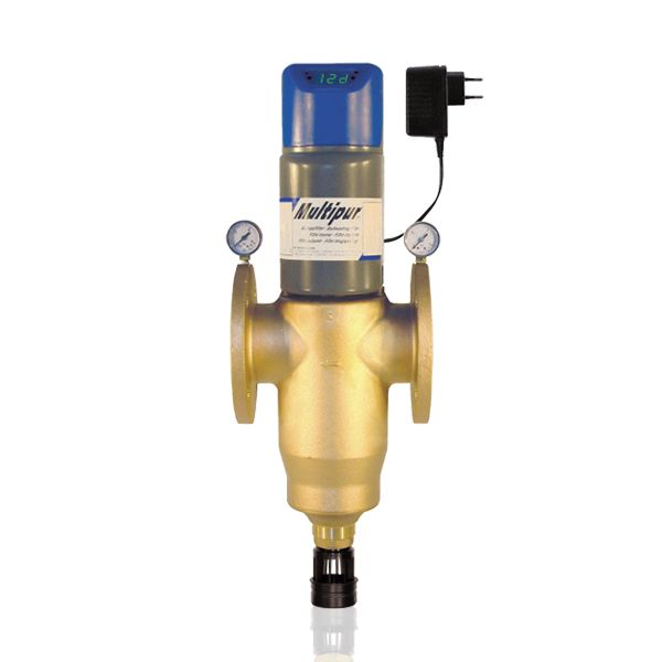 BWT Ipari lebegőanyag szűrő berendezés, Automata kivitel, idővezérléssel és differenciál nyomáskapcsolással, BWT INFINITY AP - DN 65 (100 μm), Cikkszám: 10181