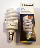 POLAROID LUMEN 550 energiatakarékos izzó spirál 11W=47W  E14-es foglalat
