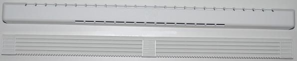 AIR-TONIC AT- G35-R-F ablakba szerelhető / nyílászáróba légbevezető, önszabályozó