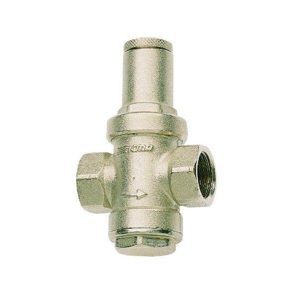 """ICMA víz nyomáscsökkentő / nyomásszabályzó 1/2"""" BB, 1-4 bar állítható kimeneti nyomás, ivóvízhez"""
