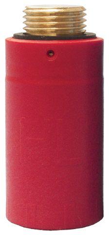 "HL42R.MS Vakogó 1/2"" sárgaréz menettel (piros)"