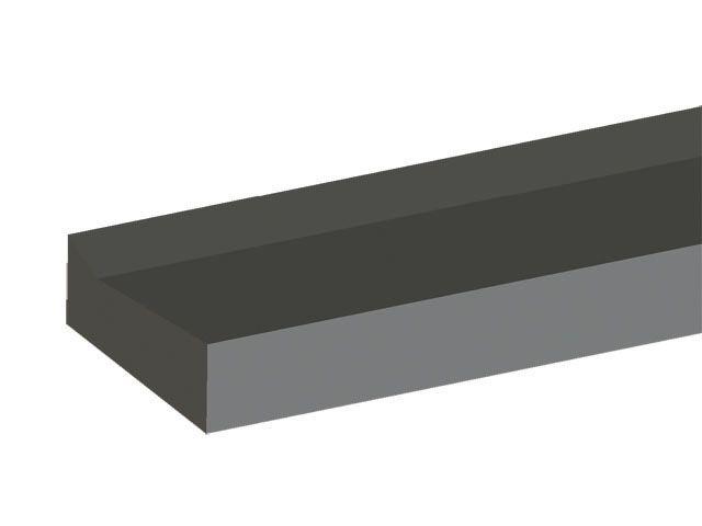 HL530VF-30 Zuhanyfolyóka blokk toldóidom HL530F-hez 30cm
