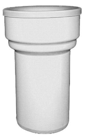 HL203/90WE WC-csatlakozó DN90, fehér, ajakos tömítéssel