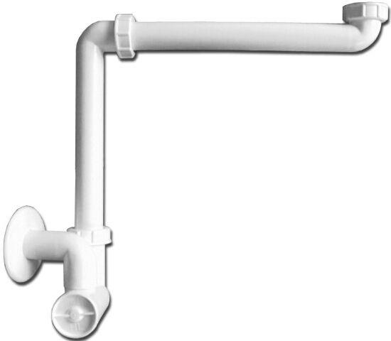 HL137/30 Mosdószifon (helytakarékos) DN32x5/4' rozettával