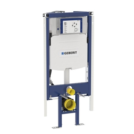 Geberit Duofix WC szerelőelem fali WC részére Sigma 12cm-es öblítőtartállyal, sarok kivitel / 111.390.00.5 / 111390005