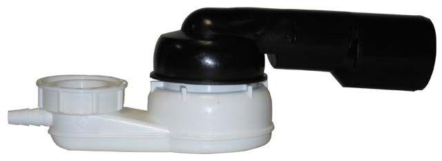 """HL500-6/4 Fürdőkád szifon DN40/50x6/4"""" gömbcsuklóval"""