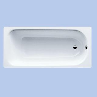 KALDEWEI Eurowa 150x70 cm-es acéllemez kád / lemezkád / fehér 2,3 mm